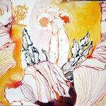Entstehung rote Tulpe Vers. 1 (c) Zeichnung von Susanne Haun
