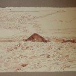 9 La mar (c) Zeichnung von Susanne Haun