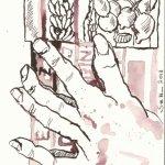 Blatt 3 Gewächshaus-Generation (c) Zeichnung von Susanne Haun