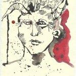 Blatt 70 Es ist der Teufel (c) Zeichnung von Susanne Haun