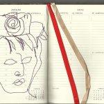 Mein Kalender 4. Woche (c) Zeichnung von Susanne Haun
