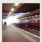 S-Bahn (c) Polaroid von Susanne Haun