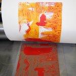 Der Druck der Platten erfolgt nacheinander wie beschrieben (c) Foto von Susanne Haun