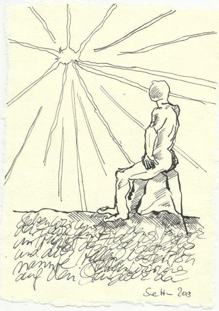 Blatt 112 Hellen Morgenstern (c) Zeichnung von Susanne Haun