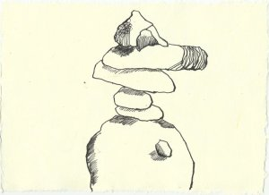 Blatt 93 Der Felsenring ist leer (c) Zeichnung von Susanne Haun