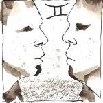 3 Zwilling (c) Zeichnung von Susanne Haun