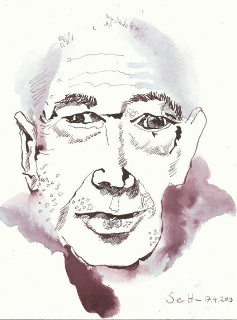 Mein Sinnbild von Herny Miller (c) Zeichnung von Susanne Haun