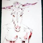 Der Vater des Teufels - Sabaoth (c) Zeichnung von Susanne Haun