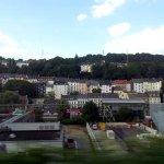 Aus dem Zug bei Wuppertal (c) Foto von Susanne Haun