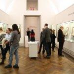 Besichtigung der Beteiligten der Ausstellung Albrecht Dürer - 500 Jahre Meiserstiche (c) Foto von Susanne Haun