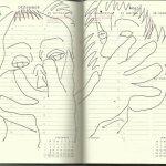 Selbstportrait Tagebuch 52. Woche (c) Zeichnung von Susanne Haun