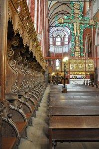 Kreuz Christusseite Lettneraltar (um 1360) (c) Foto von M.Fanke