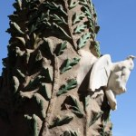 Die Sadrada von Gaudi im blauen Tageslicht - Taube des heiligen Geistes (c) Foto von Susanne Haun
