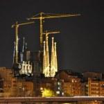 Die Sagrada vom Torre Agbar aus gesehen (c) Foto von M.Fanke