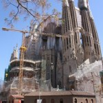 Die ewige Baustelle Sagrada Familia von Gaudi (c) Foto von Susanne Haun