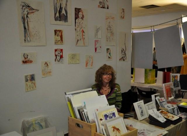 Auf der Diorama (c) Foto von M.Fanke