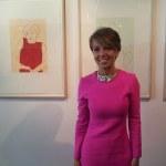 Patrizia Sandretto de Rebaudengos beim Presselunch im me Collectors Room (c) Foto von Susanne Haun