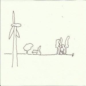 Göttingen - Berlin  Version 3 (c) Zeichnung von Susanne Haun