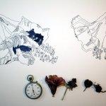 Das Vergehen der Zeit - Entstehung Zeichnung (c) Susanne Haun