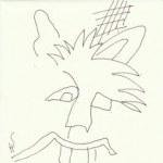 Auseinandersetzung mit Dietterlin Version 1 (c) Zeichnung von Susanne Haun