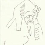 Auseinandersetzung mit Dietterlin Version 3 (c) Zeichnung von Susanne Haun