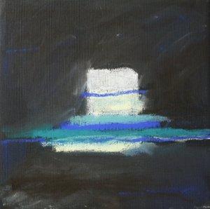 Moderne - 20 x 20 cm - Pastell auf Leinwand (c) Susanne Haun