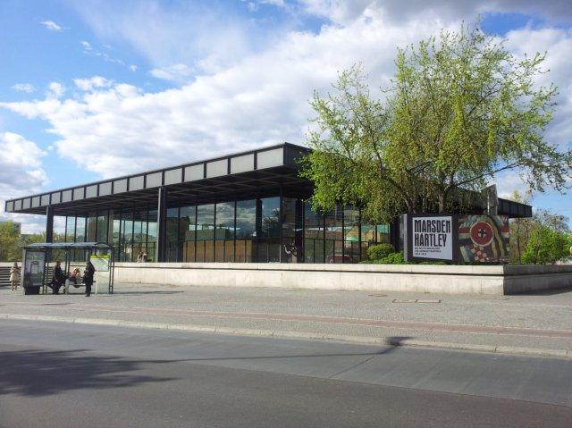 Neue Nationalgalerie Berlin (c) Foto von Susanne Haun