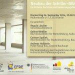 Schillerbibliothek Einladung Richtfest