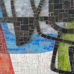 Mosaik an der Seite des U-Bahnhof Hansaplatz (c) Foto von Susanne Haun