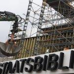 Die Staatsbibliothek wird Asbestsarniert (c) Foto von Susanne