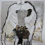 Blatt 32 – Behütet (c) Collage von Susanne Haun