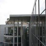 Blick von der Spreebrücke auf das Löbe-Haus (c) Foto von Susanne Haun