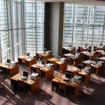 Einblick in die Bibliotheksrotunde im Lüders-Haus (c) Foto von Susanne Haun