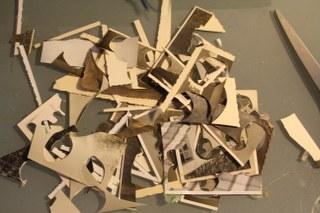 Ausgeschnittene Kreise (c) Foto von Susanne Haun