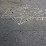 Oktaeder vor dem Museum in Vinci (c) Foto von Susanne Haun