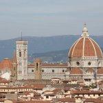 Ausblick vom Piazzale Michelangelo auf den Dom, Florenz (c) Foto von Susanne Haun