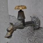 Ein Wasserhahn am Wegesrand (c) Foto von M.Fanke