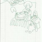 Vorlesung (c) Zeichnung von Susanne Haun