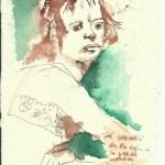Tagebucheintragungen 30.7.2006 (c) Zeichnung von Susanne Haun
