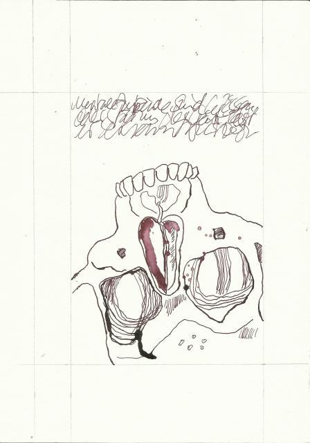 Bewusst Sein Version 3 (c) Zeichnung von Susanne Haun