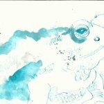 Kröte Vers. 1 (c) Zeichnung von Susanne Haun