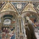 In der Bibliothek des Siener Doms (c) Foto von M.Fanke