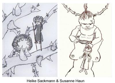 S.Haun und H.Sackmann Blätter 6