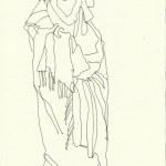 Marokko (c) Zeichnung von Susanne Haun