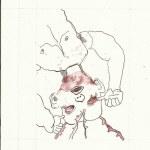 Dialog Bewusst-Sein Blatt 7 Vers. 1 (c) Zeichnung von Susanne Haun