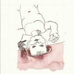 Dialog Bewusst-Sein Blatt 7 Vers. 2 (c) Zeichnung von Susanne Haun
