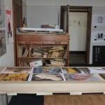 Hier entstehen Jürgens Holzschnitte (c) Foto von Susanne Haun