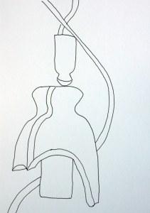 Der Isolator (c) Zeichnung von Susanne Haun
