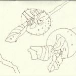 Nasses Grün (c) Zeichnung von Susanne Haun 0001