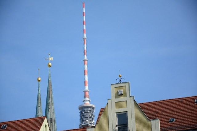 Berlin Nikolaiviertel von der Spree aus (c) Foto von M.Fanke